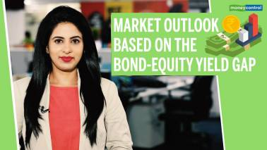Outlook based on bond-equity yield gap