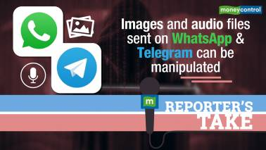 Whatsapp images can be manipulated