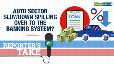 Auto slowdown spilling over to banking?