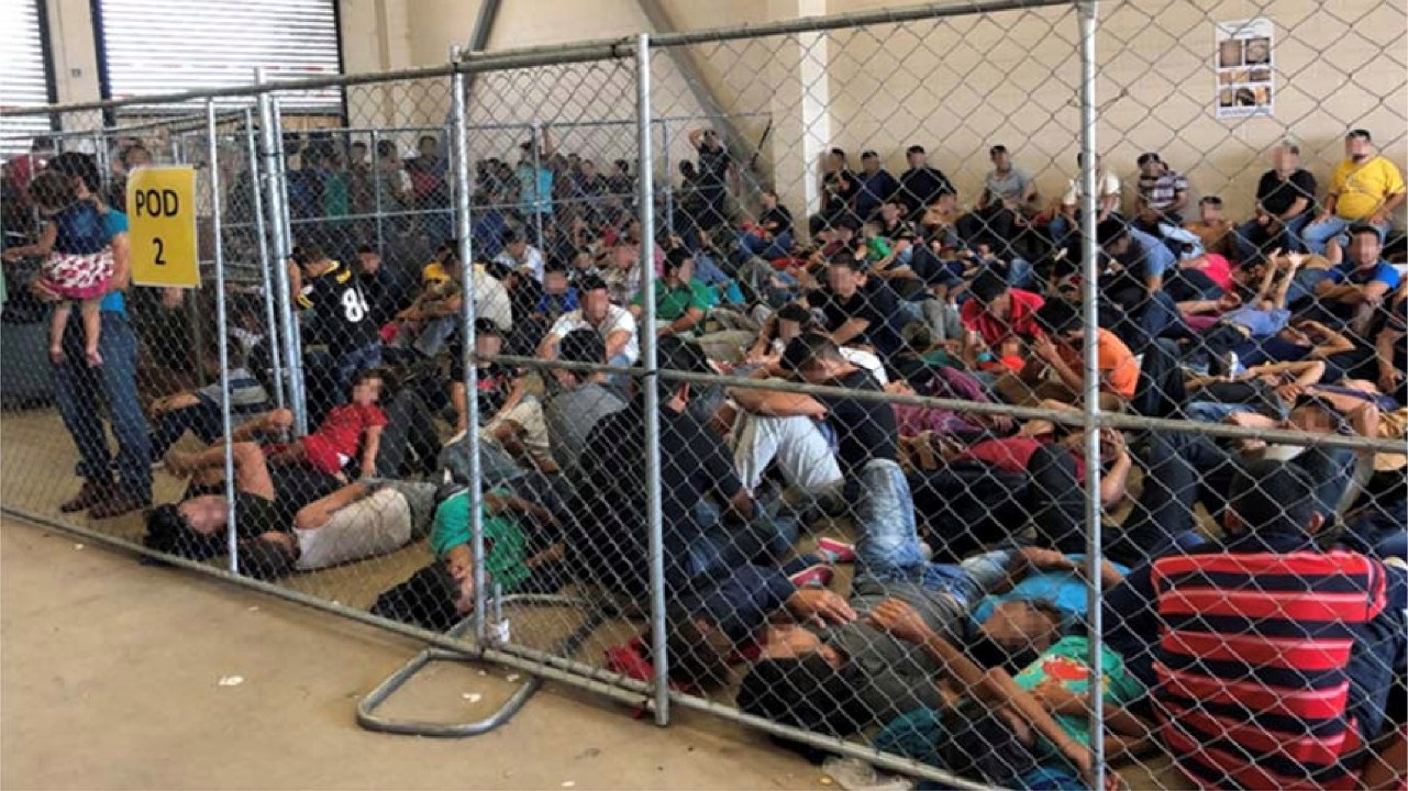 """The Department of Homeland Security (DHS) said supervisors raised concerns for the health and safety of detainees and agents, warning that the overcrowding represented a """"ticking time bomb"""" in Texas' Rio Grande Valley on the southwest US border. (Image: Reuters)"""