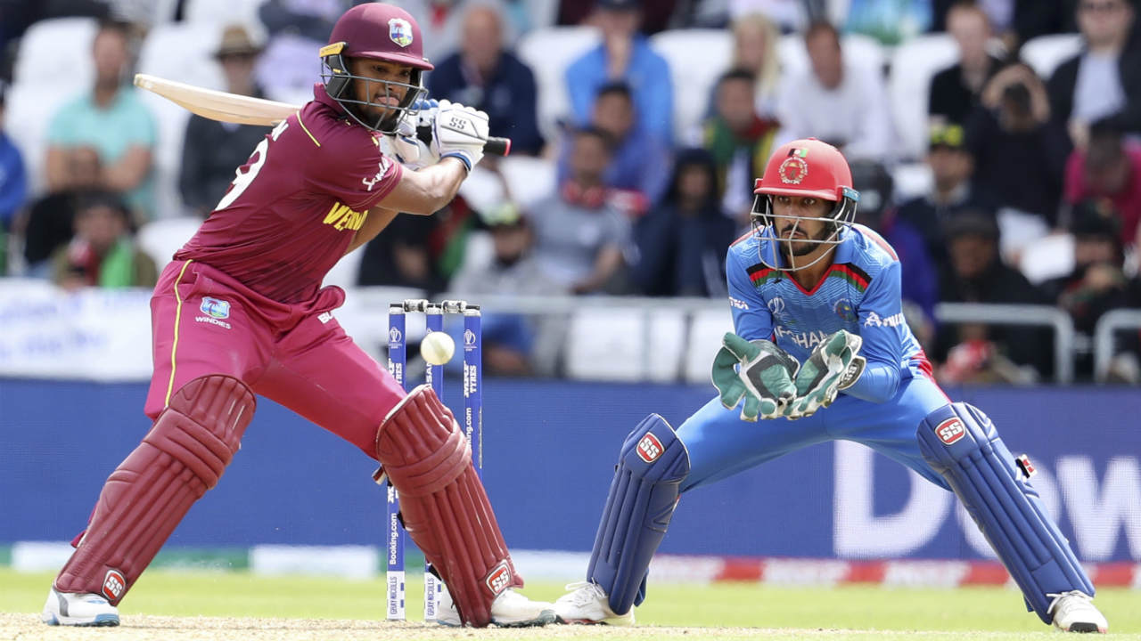 Jason Holder and Nicholas Pooran then gave the Windies a late push adding 105 runs off just 69 balls. Pooran was run out in the final over with 58 off 43 balls and Holder was caught out on the next ball returning with 45 off 34 balls. Carlos Brathwaite then hit 6,4 and 4 off the last three balls as West Indies finished with 311/6. (Image: AP)