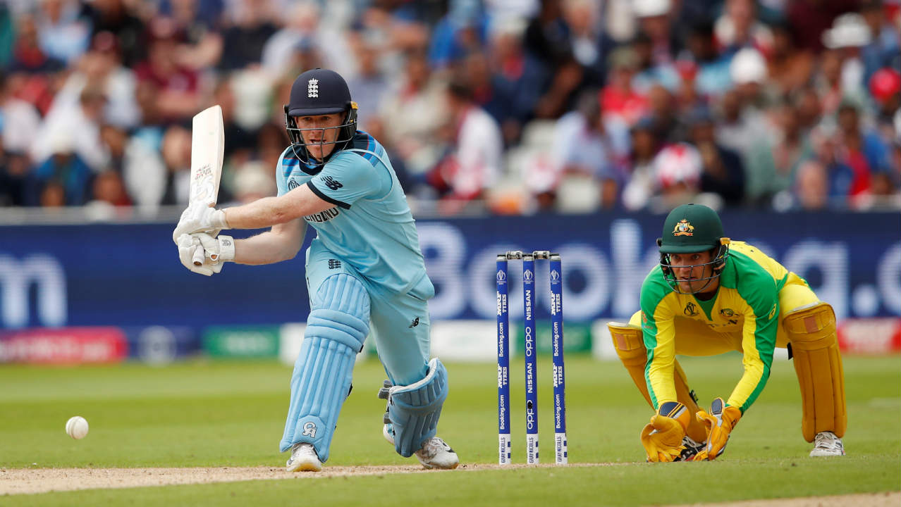 Eoin Morgan (45*) and Joe Root (49*) then stitched together an unbeaten 79-run partnership to carry England across the finish line. The win ensured that the World Cup will have a new holder on July 14. Chris Woakes was adjudged Man of the Match for his figures of 3/20. (Image: Reuters)