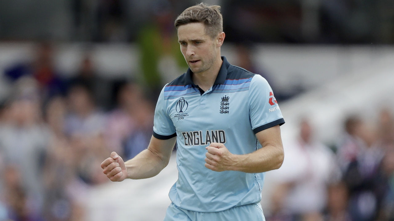 Latham and Colin de Grandhomme added 46 off just 47 balls for the 6th wicket. The partnership was broken by Woakes in the 47th over when he got de Grandhomme (16 off 28 balls) caught out at mid-off. Woakes then got rid of Latham in the 49th over sending him back with 47 runs off 56 balls. New Zealand were down to 232/7 when Latham walked back. (Image: AP)