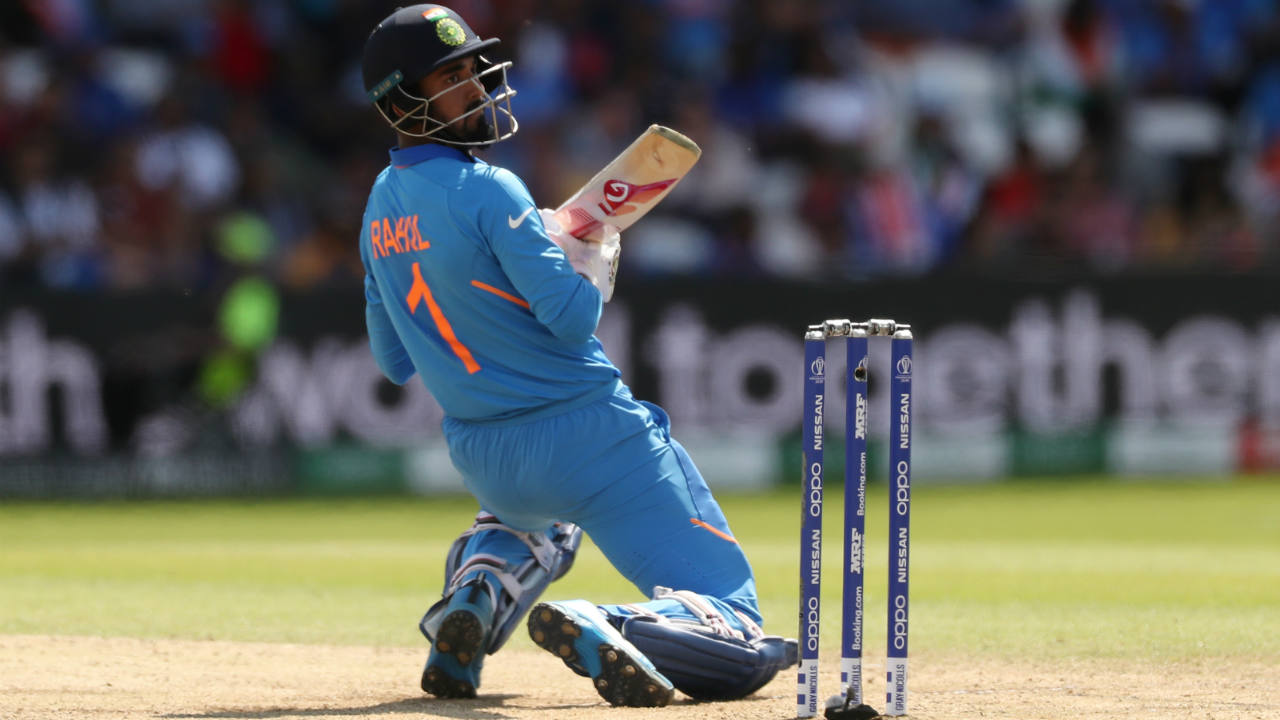Rahul was a little slow off the blocks but brought up his 50 off 67 balls in the 23rd over. Together the pair took India past the 150-run mark from just 148 balls. (Image: Reuters)