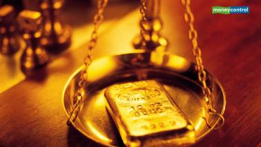 Gold prices break losing streak, move higher as investors await rate cut at ECB meet