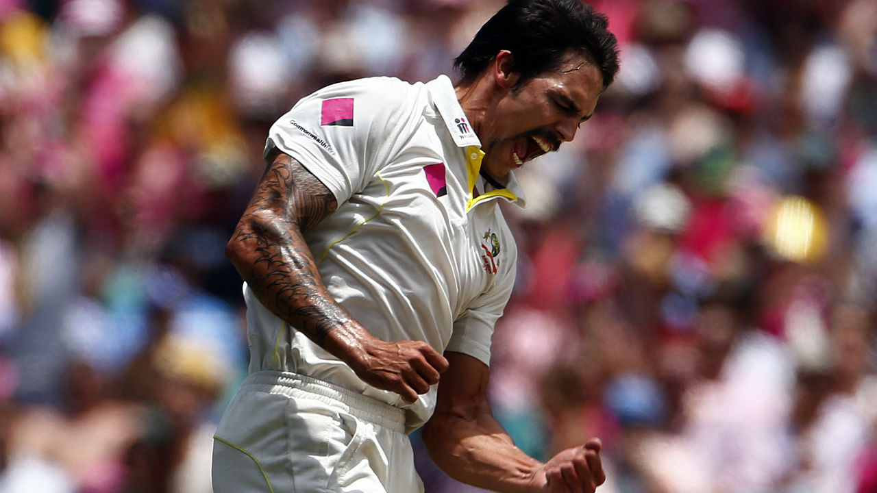 Mitchell Johnson (2013-14)   Johnson tormented the English batsmen who travelled Down Under with his searing pace and great mix of yorkers and bouncers. He ended the series with 37 wickets at 13.07, the third best bowling average in Ashes history and ninth in terms of wickets taken in a single series. Johnson's fiery performances led Australia to a 5-0 series victory and even Cook who scored 766 on his last trip to Australia could finish with just 3 half centuries. (Image: Reuters)