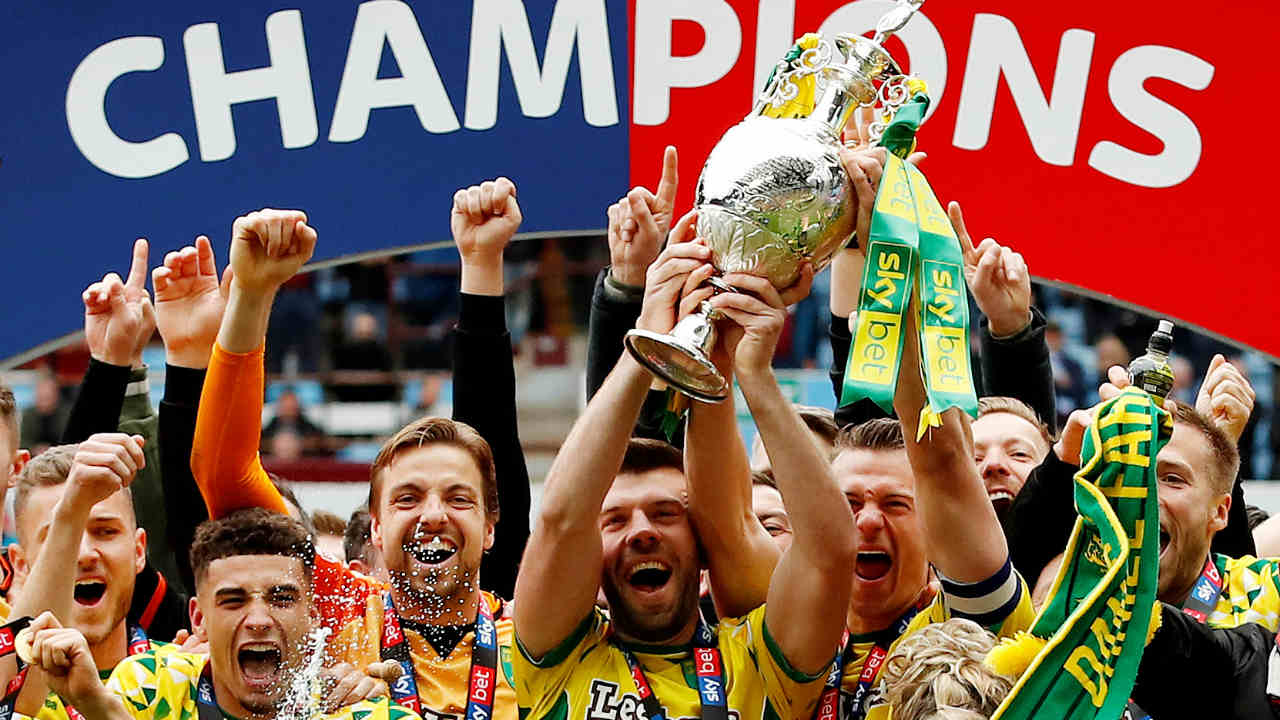 Norwich City – 3.65 million pounds | Newly promoted Norwich aren't following in Aston Villa's footsteps by splurging the cash in the transfer market. The Canaries have signed Schalke keeper Ralf Fahrmann on a season-long loan for a 3 million fee. They've also acquired Swiss striker Josip Drmic on a free transfer and have signed Daniel Adshead and midfielder Aidan Fitzpatrick, for a combined 650,000. (Image: Reuters)