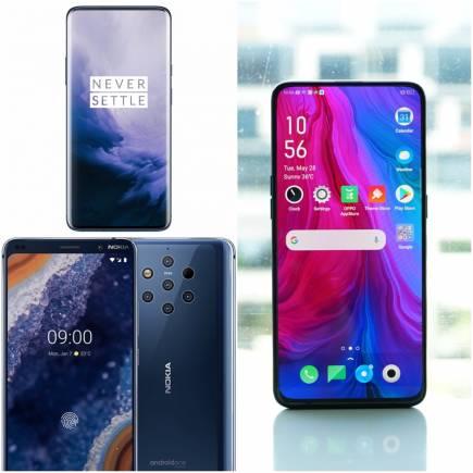 Nokia 9 PureView vs OnePlus 7 Pro vs Oppo Reno 10x Zoom: Specs, Price,  Features Comparison