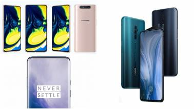 Samsung Galaxy A80 vs OnePlus 7 Pro vs Oppo Reno 10x Zoom: Specs, Features and Price