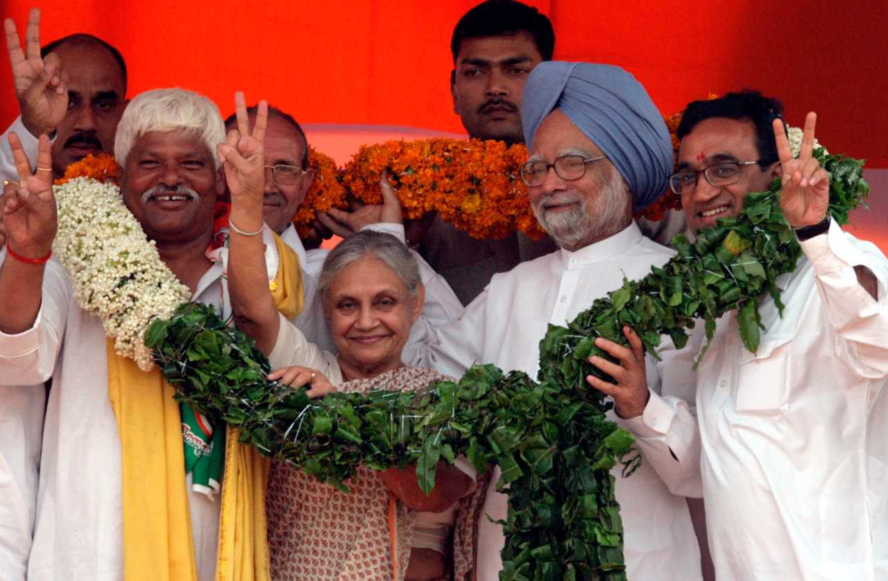 The senior Congress leader served 15 years at Delhi's top office from 1998 to 2013, before she was defeated by the current chief minister and Aam Aadmi Party chief Arvind Kejriwal. During her tenure, she consolidated Congress' position in the national capital. (Image: Reuters)