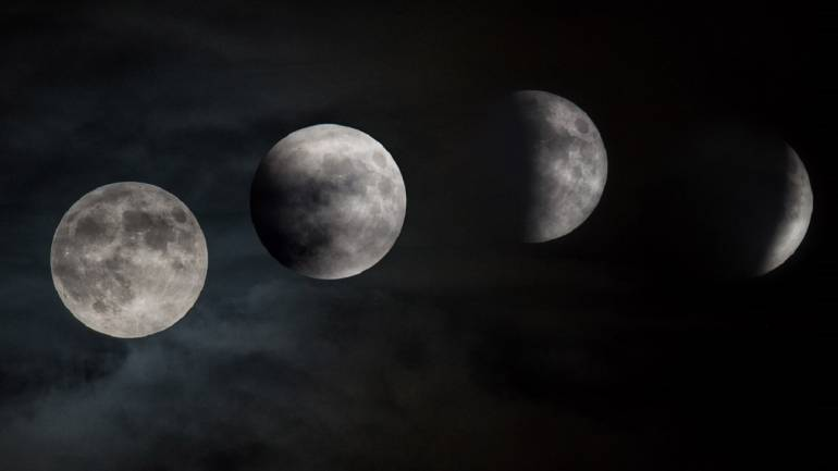 Here`s when you can see partial lunar eclipse in India