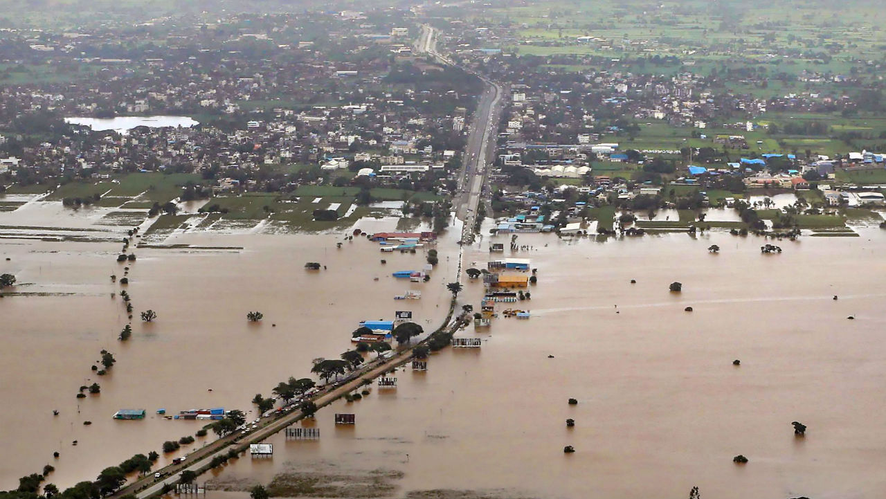 175+ killed, almost  a MILLION left homeless by landslides & floods in India