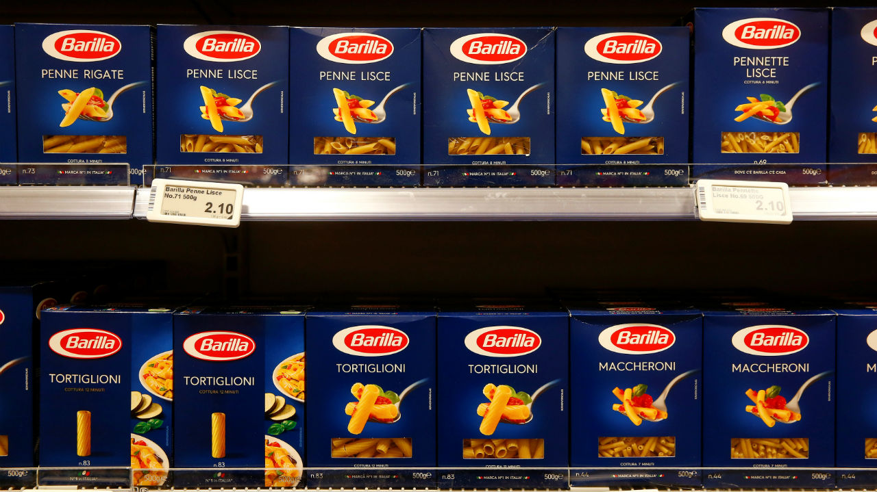 In 2017, pasta brand, Barilla, roped in Roger Federer as its main face of advertising for a sponsorship deal worth $8.1 million per year. The deal runs till 2022. (Image: Reuters)