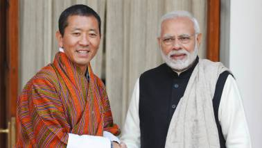 PM Modi holds talks with his Bhutanese counterpart