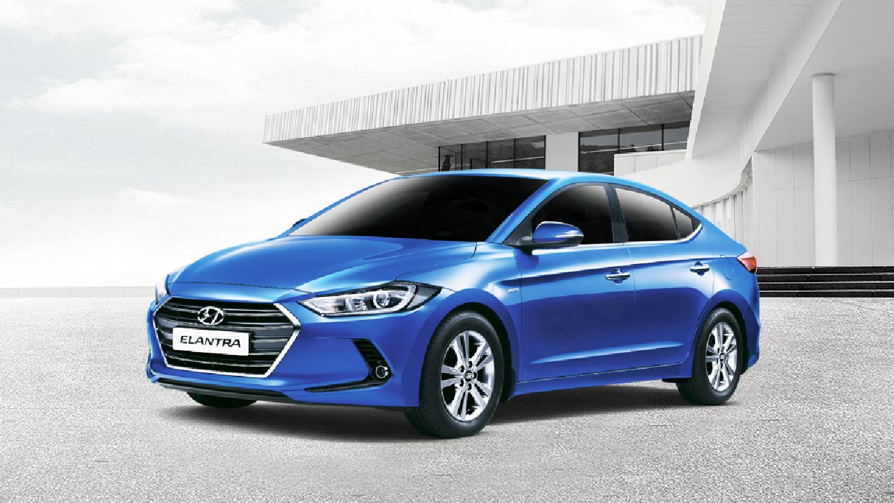 One of Hyundai's slowest moving models is the Elantra, a premium executive sedan. The model is offered a benefit scheme of Rs 2 lakh. The Tucson SUV is also offered at a discount of Rs 2 lakh (Image: Hyundai India)