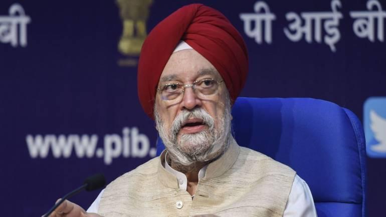 Hardeep Singh Puri, Housing minister