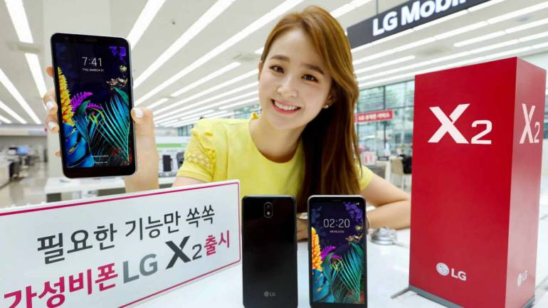 LG X2 (2019) debuts with Snapdragon 425 SoC, to launch internationally as  LG K30 (2019)