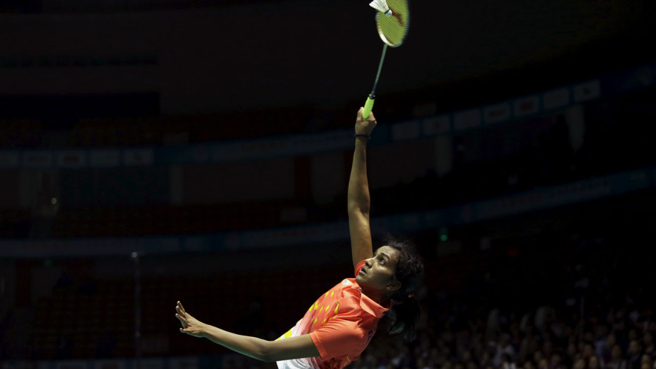 Sindu's resume is also decorated with plethora of Indian awards. In 2013 Sindhu won Arjuna Award. The following her achievements were recognized when she won Padma Shri. In 2016, Sindhu won India's highest sporting award the Rajiv Gandhi Khel Ratna. (Image: Reuters)