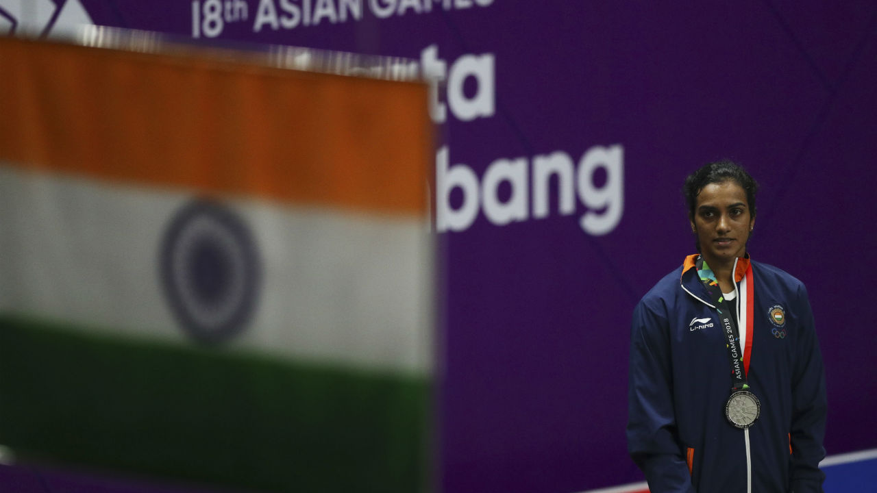 In the 18th Asian Games held at Jakarta–Palembang, Sindhu became the first Indian shuttler to reach the final of the badminton singles competition in Asiads. Sindhu eventually went down to Tiwan's Tai Tzu 21-13, 21-16 to net a silver medal but she had already created history till then. (Image: Reuters)