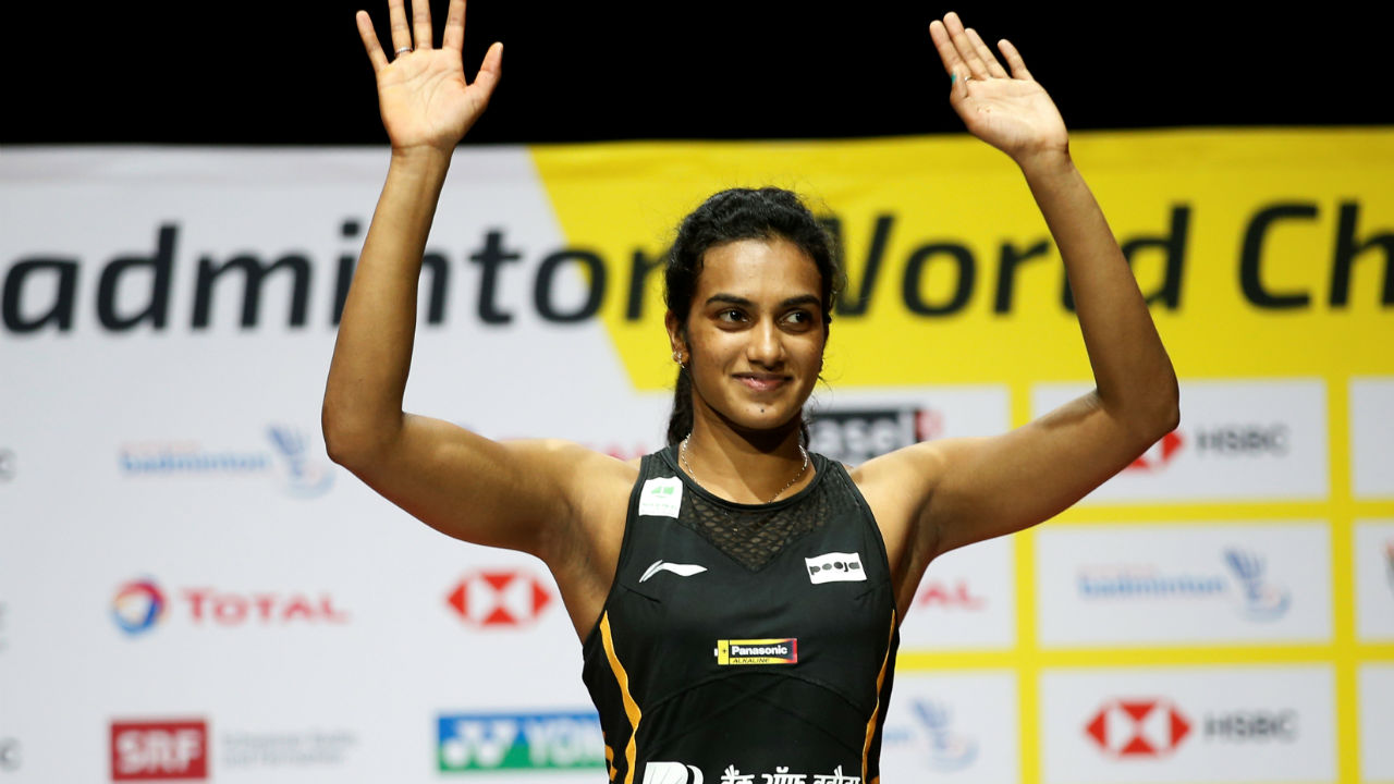 On August 25, Indian Badminton ace and World No. 5 PV Sindhu defeated Japanese badminton player Nozomi Okuhara 21-7, 21-7 in the final of 2019 BWF World Championship and became the first Indian singles player to win Gold medal in the prestigious event. Sindhu has enjoyed a glittering career so far. Here is look at her major achievements. (Image: Reuters)