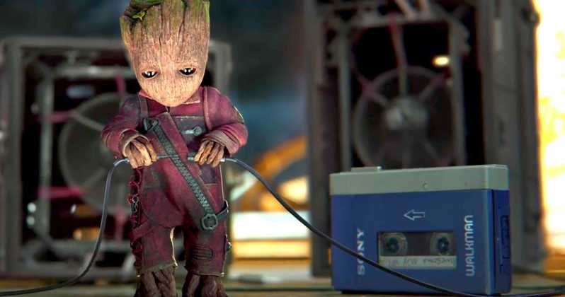 "Answer: The classic gadget, which plays a big role in the recently released Guardians of the Galaxy Vol. 2, was first marketed under the name ""Soundabout"", according to walkman-archive.com. The ""Walkman"" name followed later."