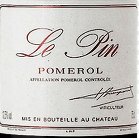 Answer: Le Pin Pomerol