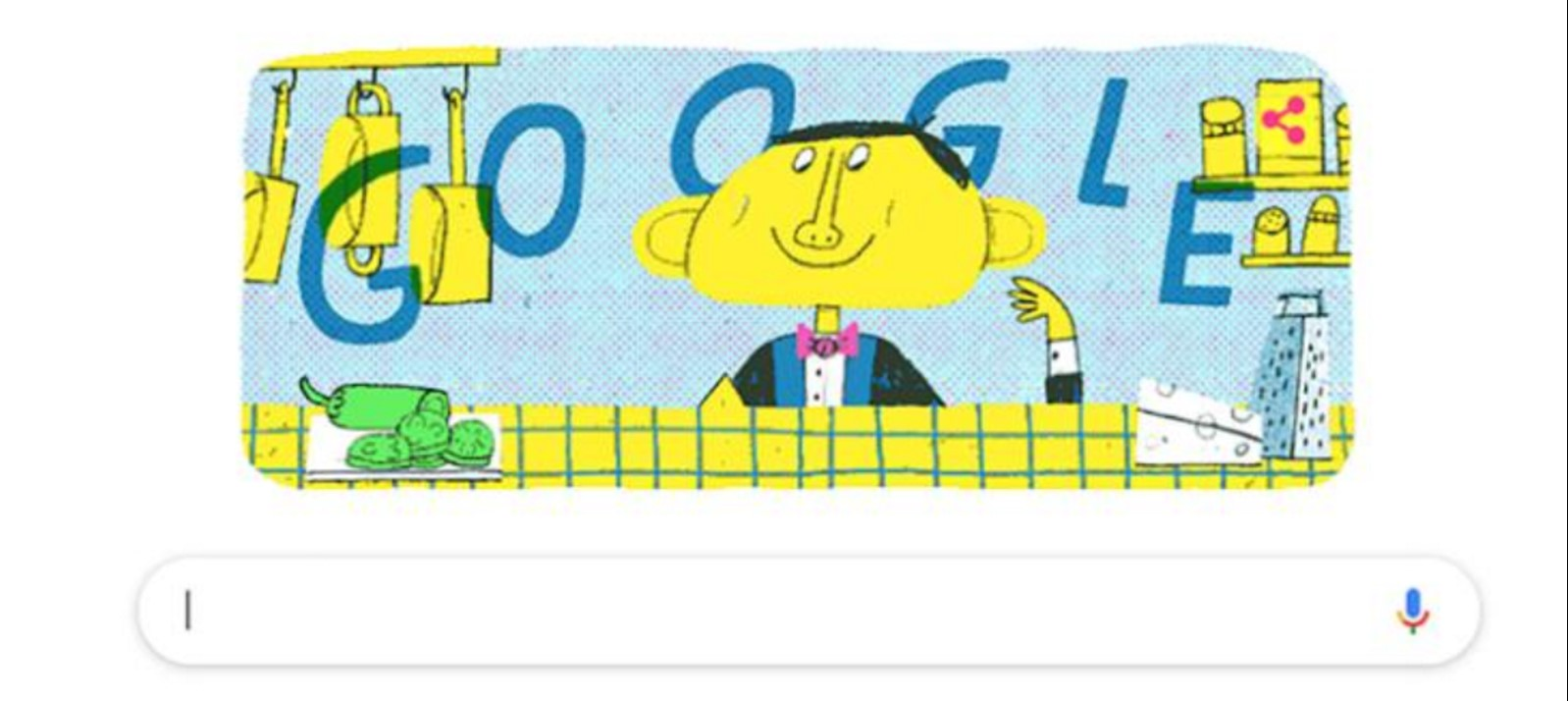 Q5. Who does this Google Doodle commemorate?