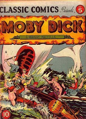 Q9. This is a version of Moby Dick published by Gilberton's classic comics. This was one of the first published works of which legendary comic book artist, who later went on to produce an Avant-garde magazine in news for all the wrong reasons this year?