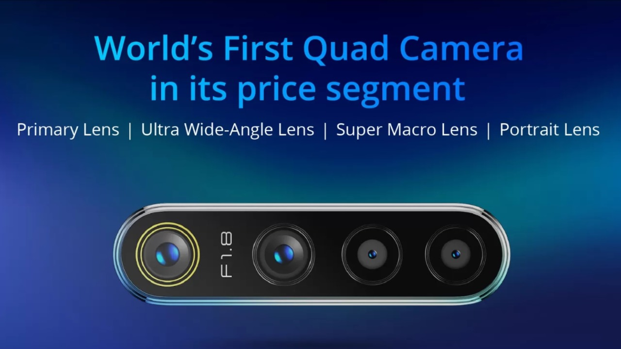 Honourable Mention | Realme 5 Pro | The Realme 5 Pro is set to launch later today and will be the first in its price range to feature a quad rear camera module. The Realme 5 Pro gets a 48MP primary sensor, an ultra-wide camera, telephoto lens, and a depth sensor. While the Realme 5 Pro is yet to launch, it gets an honourable mention on our list for offering four rear cameras at an under 20K price point.