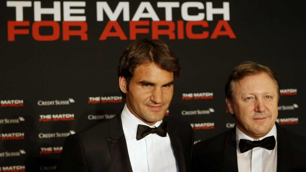 Federer signed a 10-year deal with Swiss multinational investment bank Credit Suisse in November 2009. The deal is worth $2 million per year. The brand also assists Federer by making contribution to the Roger Federer Foundation, the charity which was founded by the tennis star to help disadvantaged children in Africa. (Image: Reuters)