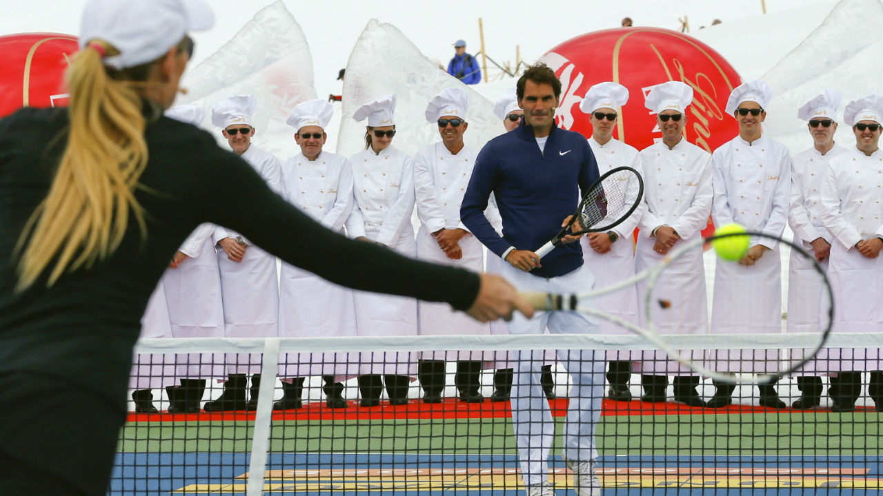 Swiss chocolatier and confectionery company Lindt has signed up with Federer for a sum of $4 million. Federer came on board with Lindt in 2009 and his contract lasts till 2022. (Image: Reuters)