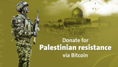 Palestinian militant group Hamas starts accepting Bitcoin to raise money: Report