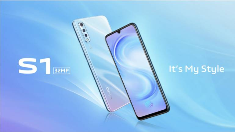 Vivo S1 with triple camera setup, MediaTek SoC launched in India: Specs,  Price and Availability