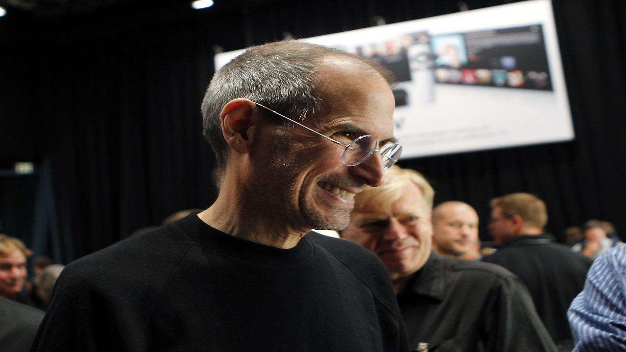 Answer: Steve Jobs – S, Michael Moritz – M, Apple – A Booker Prize – B, Computer – C (Image: Reuters)
