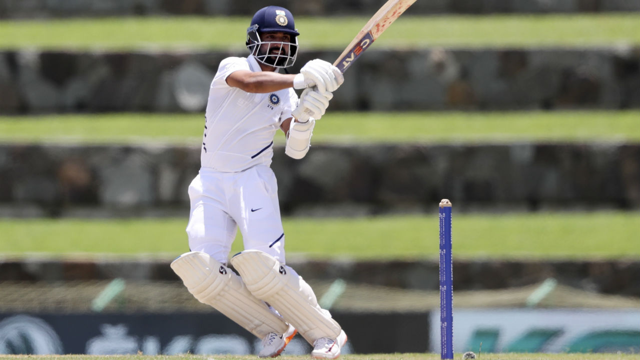 Rahul and Rahane then stemmed the flow of wickets, joining forces to steady the innings. Together they took India to 68/3 at Lunch. Rahul was batting on 37 off 73 balls and Rahane was on 10 off 43 balls. (Image: AP)