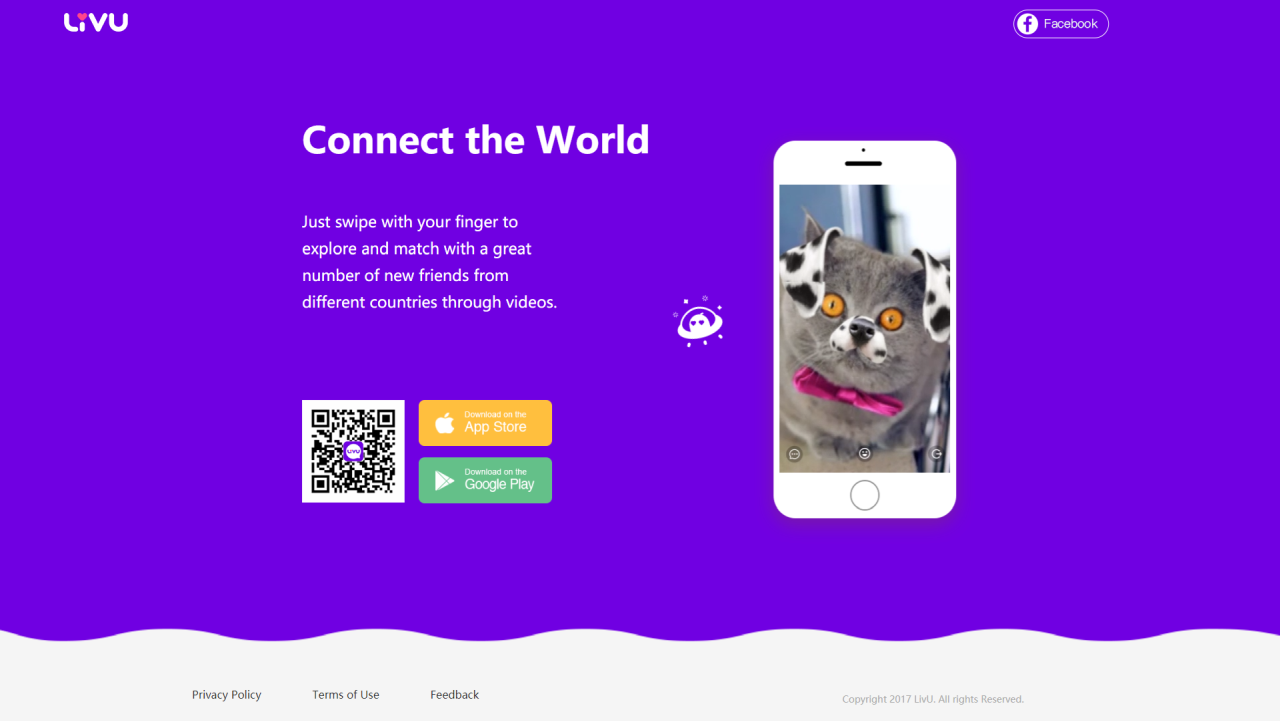 Rank 7| LivU - App to meet and video chat with strangers (Image: LivU)