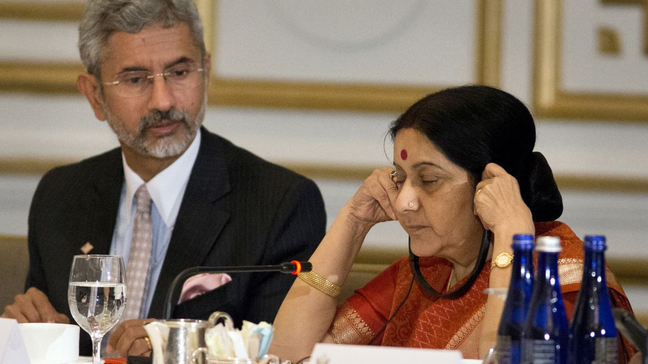 Sushma Swaraj was not part of the second Narendra Modi government. S Jaishankar replaced her as the External Affairs Minister. (Image: Reuters)