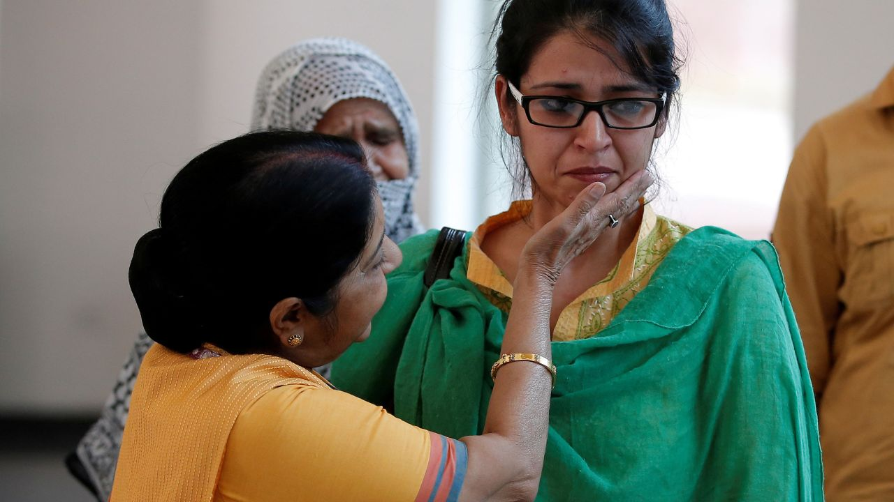 It was Swaraj, whose efforts had brought back Uzma from Pakistan. Uzma had said she was forced to marry a Pakistani man at gunpoint. (Image: Reuters)