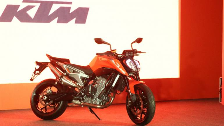 The KTM 790 Duke has been one of the most awaited bikes in our market. It was first launched a year back for the international markets but took quite a while making it to Indian shores. (Image source: Moneycontrol)