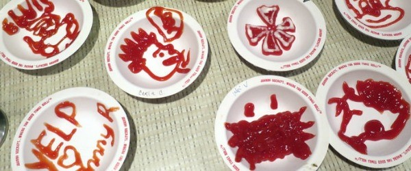 Q14. Which fast-food restaurant chain will you associate with these artwork based on ketchup?