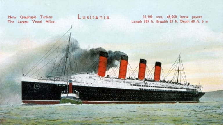 Q16. When the RMS Lusitania sank, it took with it a lot of promising personalities. One of them was the scion of a business family who owned the Sagamore Farms, a thoroughbred horse breeding farm in Baltimore Maryland. Identify the owner. Also, which businessman has now bought the Sagamore farms and started a brand of whiskey called the Sagamore whiskey?