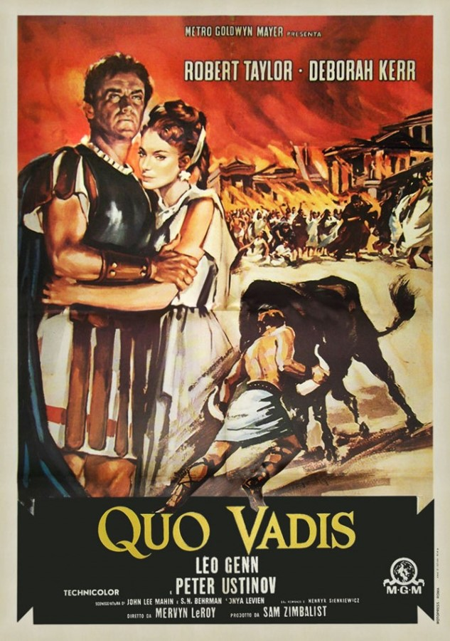 """Answer: Quo vadis. A Latin phrase meaning """"Where are you marching?"""" Quovadis is a brand of Bata men's leather flip flops and thong sandals."""