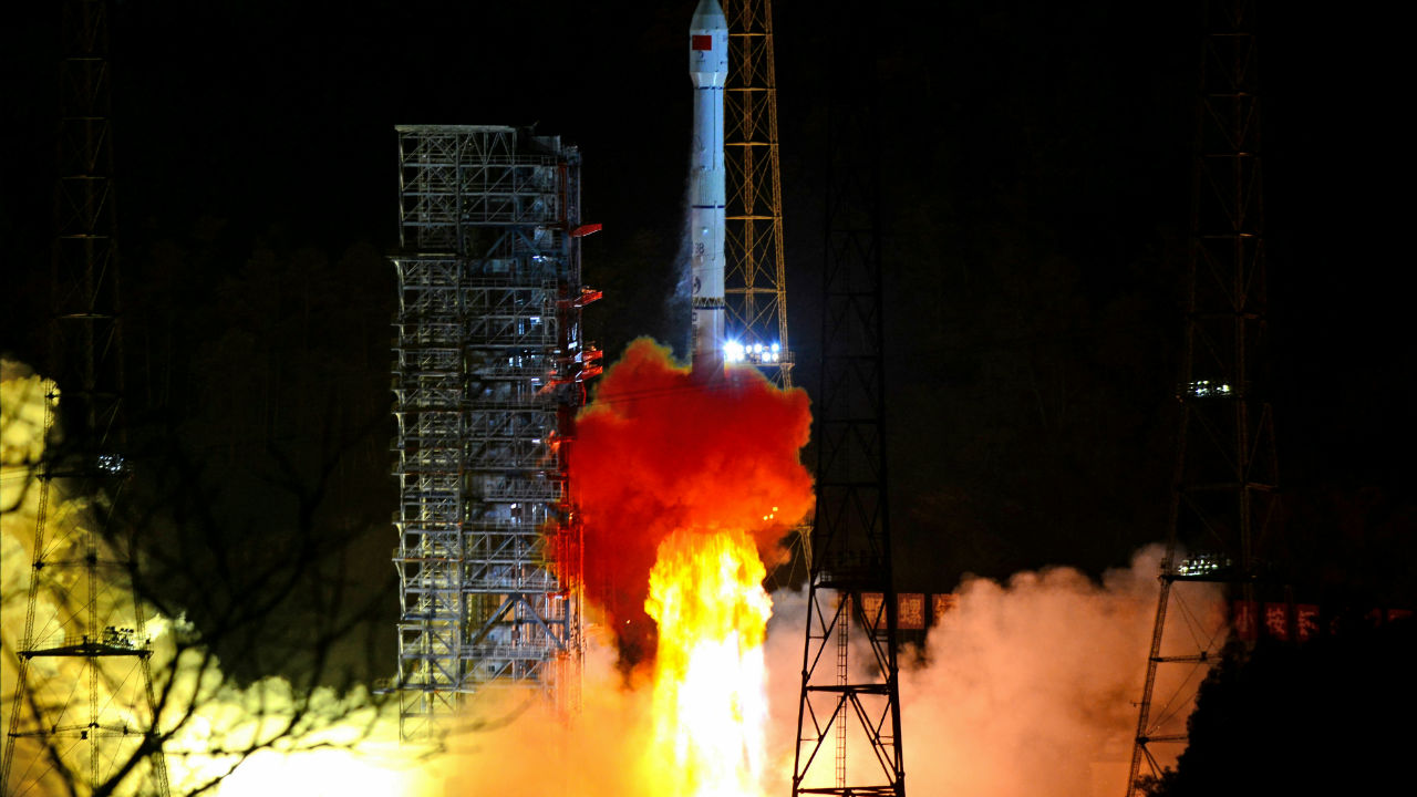 Chang'e 4 | Launch Date: December 7, 2018 | Country: China | Mission Type: Second rover, landing on dark side of moon. (Image: Reuters)