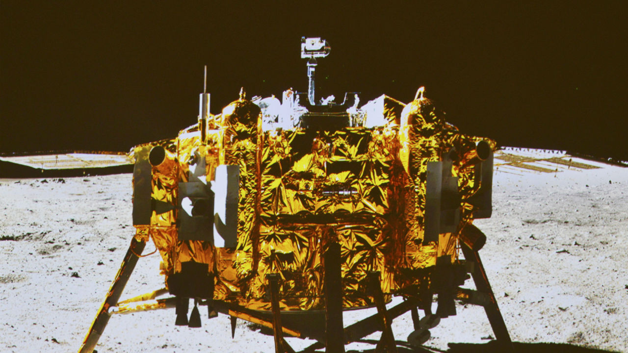 Chang'e 3 | Launch Date: December 1, 2013 | Country: China | Mission Type: Rover landing and moon survey. (Image: Reuters)