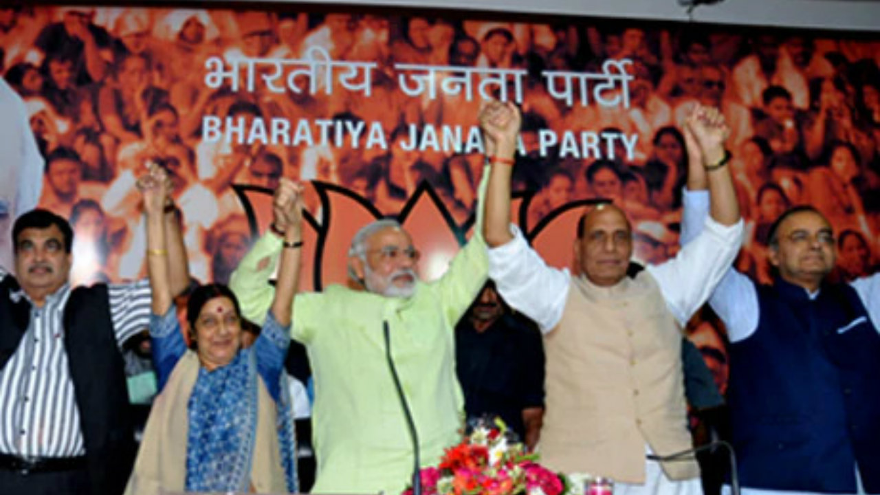 2013: Modi is chosen as the BJP's PM face for the 2014 general elections. (Image: narendramodi.in)