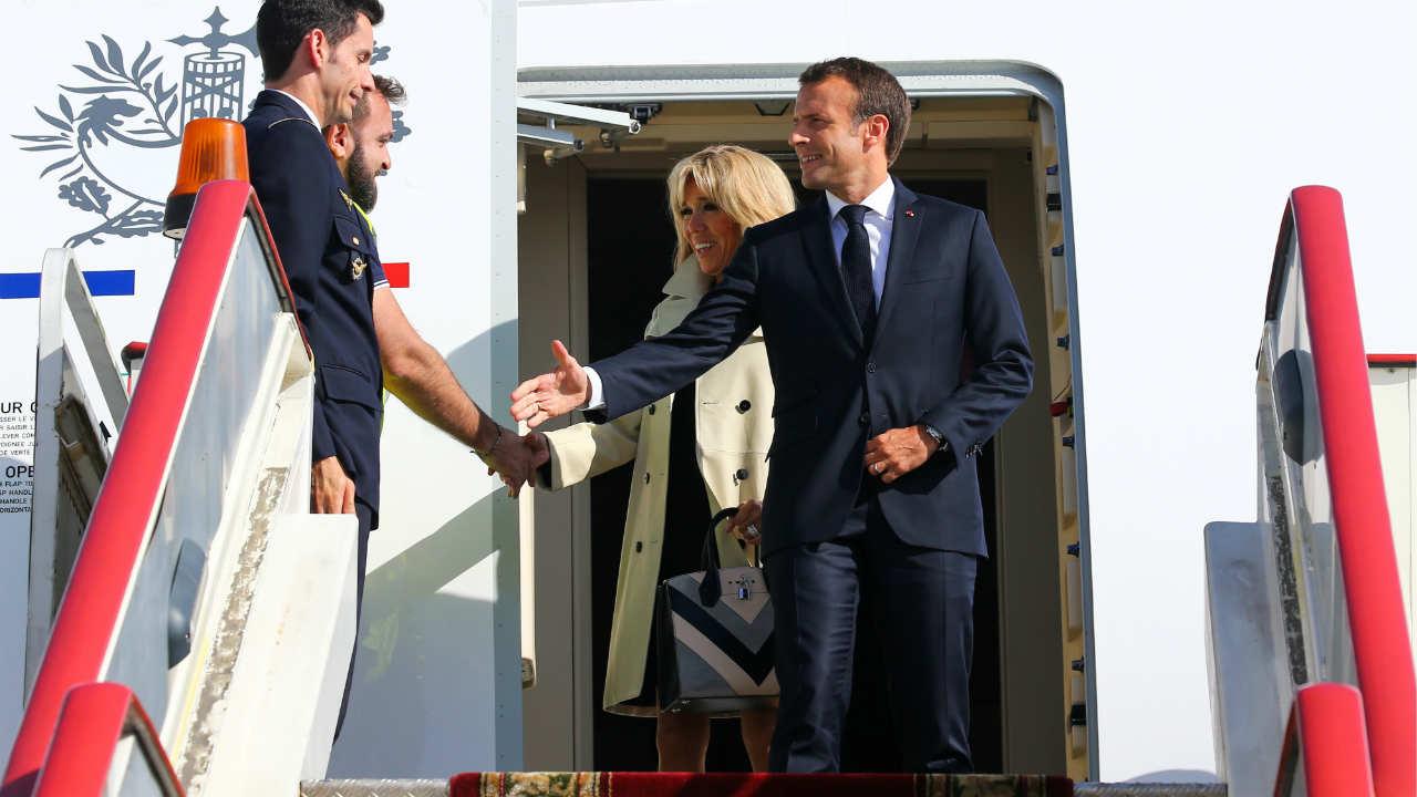No.5 | French President, Emmanuel Macron |Emission: 7,645 (Image: Reuters)