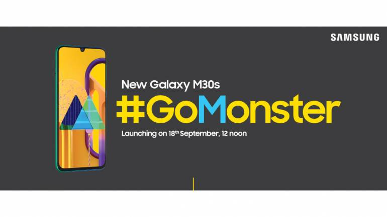 Samsung Galaxy M30s confirmed to launch on September 18 in India