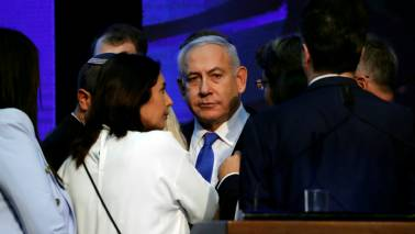 Israel election: Netanyahu trails by a seat with majority votes counted