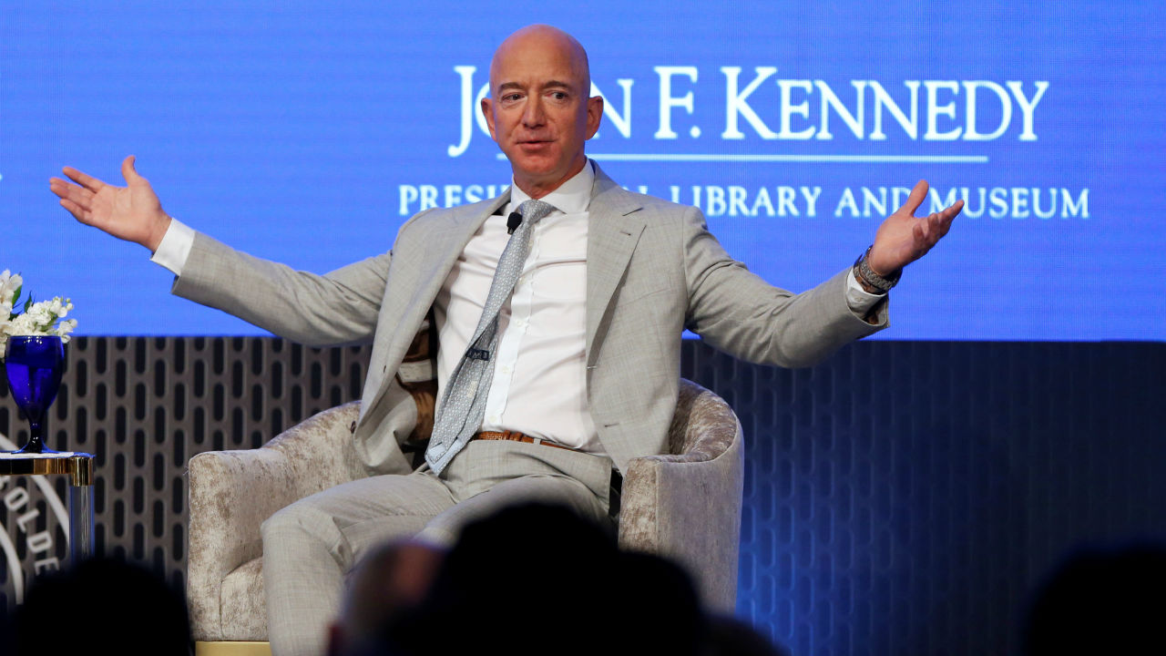 Richest person in US | Jeff Bezos| CEO and Founder, Amazon| Net Worth as of March 2019: $131B | Forbes Rich list rank: 1 (Image: Reuters)