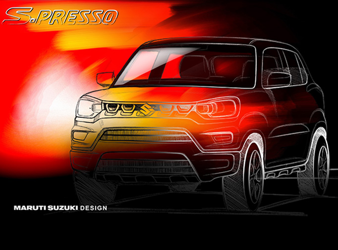 Ahead of its scheduled September 30 launch, the S-Presso has officially been teased by Maruti Suzuki. The company's teaser and its website reveal a lot of interesting information about the mini cross-hatchback. (Image source: Maruti Suzuki)